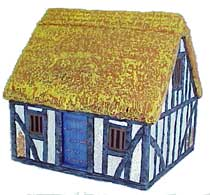 Hudson & Allen 25mm Scale Model Village Set#1 Building #1 for Tabletop Miniature Wargames
