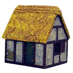 Hudson & Allen 25mm Scale Model Village Set#1 Building #3 for Tabletop Miniature Wargames