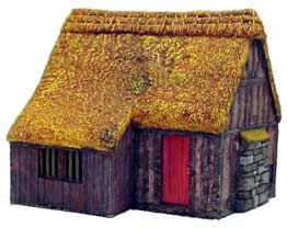 Hudson & Allen 25mm Scale Model Village Set#1 Building #4 for Tabletop Miniature Wargames
