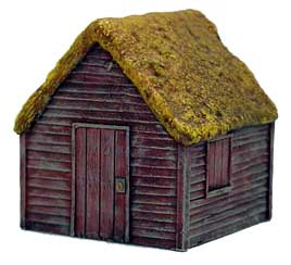 Hudson & Allen 25mm Scale Model Village Set#1 Building #5 for Tabletop Miniature Wargames