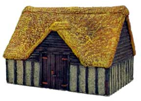Hudson & Allen 25mm Scale Model Village Set#2 Building #1 for Tabletop Miniature Wargames