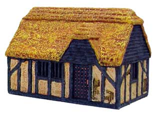 Hudson & Allen 25mm Scale Model Village Set#2 Building #3 for Tabletop Miniature Wargames