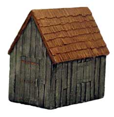 Hudson & Allen 25mm Scale Model Village Set#2 Building #2 for Tabletop Miniature Wargames
