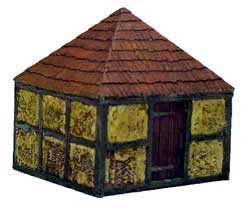 Hudson & Allen 25mm Scale Model Village Set#2 Building #4 for Tabletop Miniature Wargames