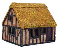 Hudson & Allen 25mm Scale Model Village Set#2 Building #5 for Tabletop Miniature Wargames