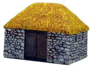 Hudson & Allen 25mm Scale Model Village Set#3 Building #2 for Tabletop Miniature Wargames