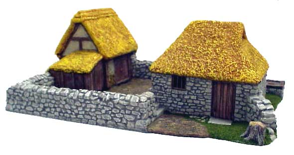 Hudson & Allen 25mm Scale Model Village Set#3 Building #3 for Tabletop Miniature Wargames