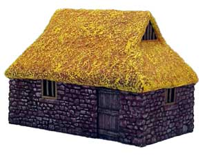 Hudson & Allen 25mm Scale Model Village Set#3 Building #4 for Tabletop Miniature Wargames