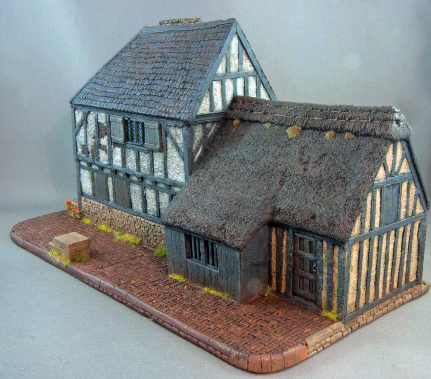 Hudson & Allen 25mm scale model Late Medieval Village Set, Building 1 for Tabletop Miniature Wargames