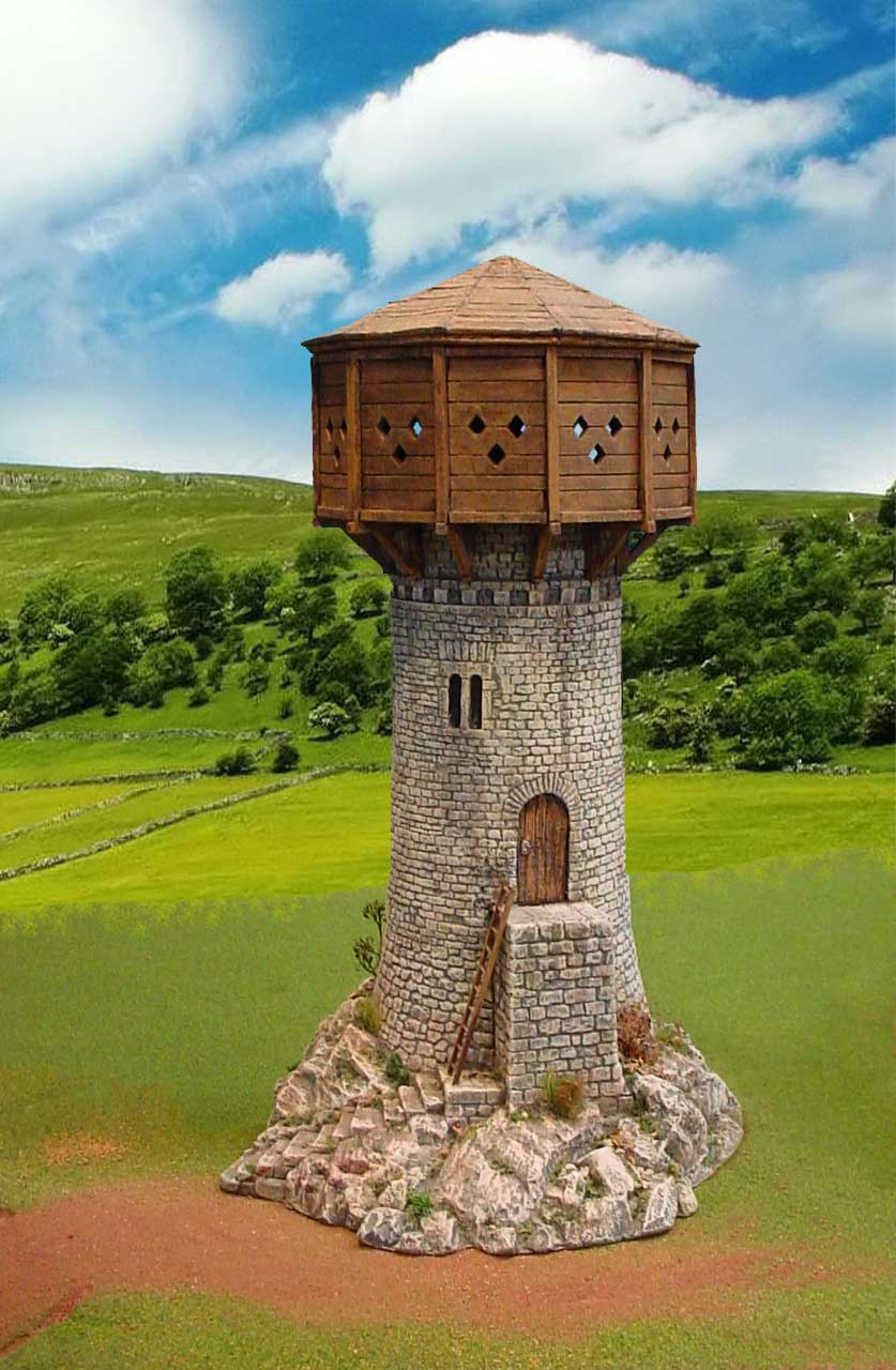 Watchtower with Hoarding image