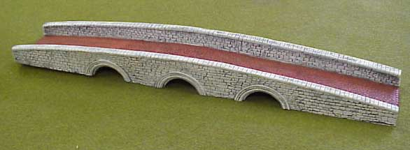 Hudson & Allen 25mm scale model Three Arch Bridge for Tabletop Miniature Wargames