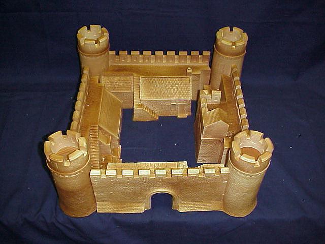 Hudson amp allen 25 mm standard medieval model castle