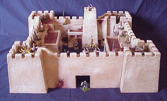Hudson & Allen 25mm Scale Model Desert Fortress for Tabletop Miniature Wargames Desert Fortress