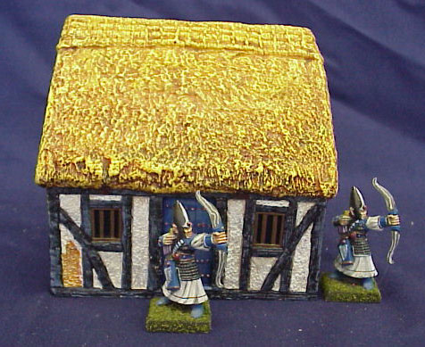 Hudson & Allen Studio 25mm Scale Model Village Set 1 bldg 1 Painted